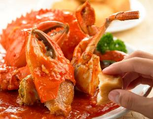 spiced crab