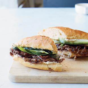 steak sandwiches
