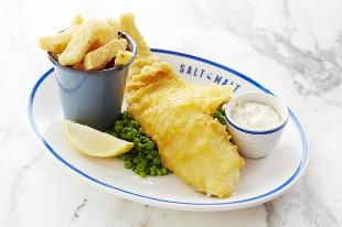cod fish and chips