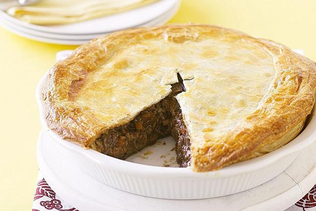 Mince and cheese pie